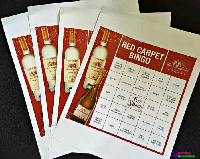 free printable awards bingo