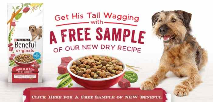 free sample of new beneful