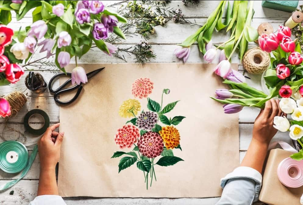 fresh flowers 10 Ways to Make Your Home Luxurious