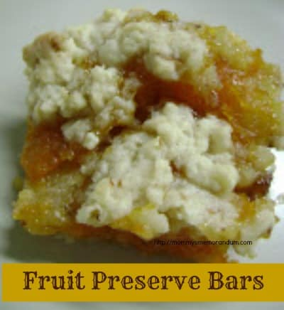fruit preserve bars recipe