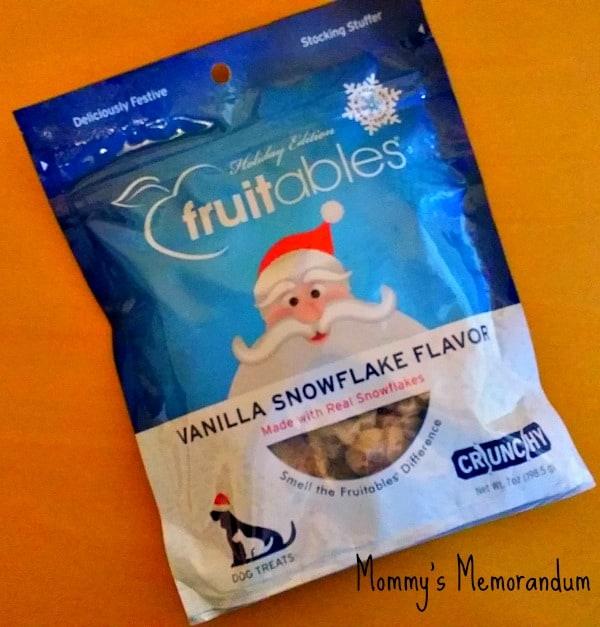 fruitables vanilla snowflake flavor bag