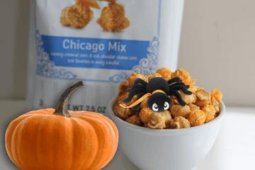 halloween gourmet popcorn