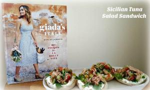 Giada's Italy Sicilian Tuna Salad Sandwich Recipe