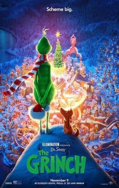 the grinch movie in theaters November 9