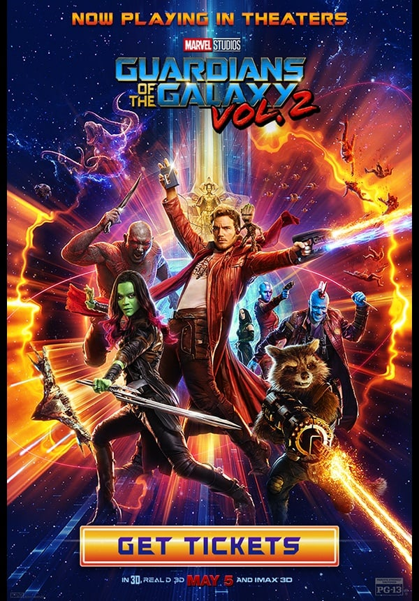 guardians of the galaxy in theaters