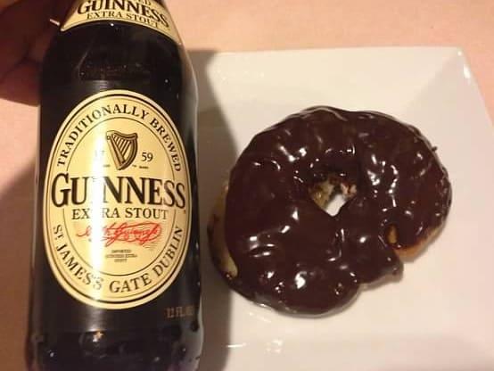 guinness cronut