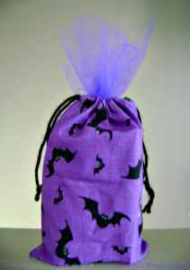 Tutorial: Halloween Drawstring Bag