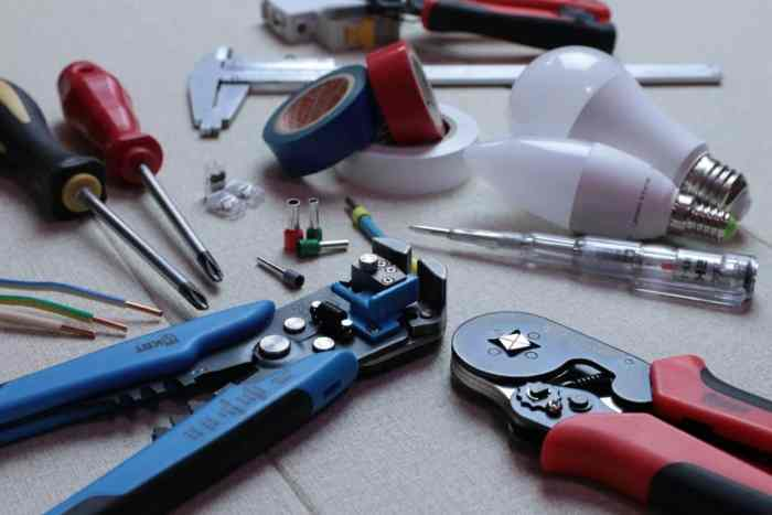 handling electrical repairs on your own