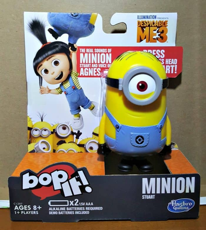 hasbro bop it despicable 3 boxed game