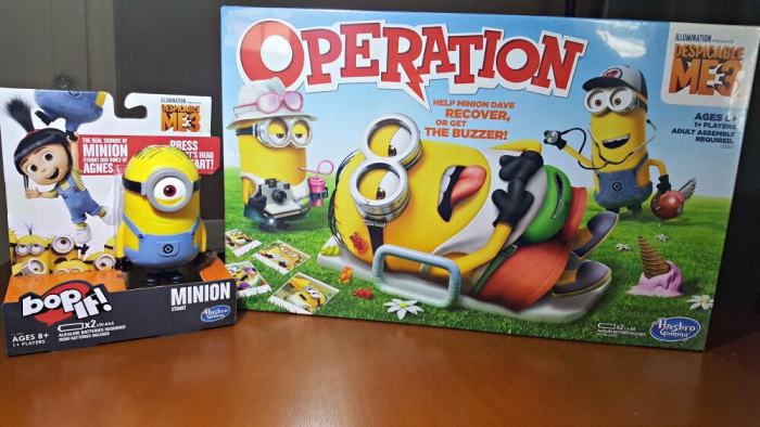 hasbro despicable me 3 family game night