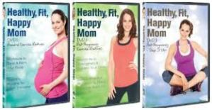 Healthy, Fit, Happy Mom 3 Disc Series