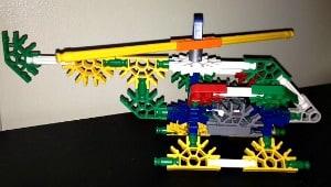 K'NEX helicopter