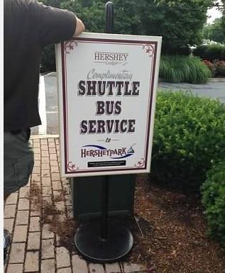 hershey lodge shuttles