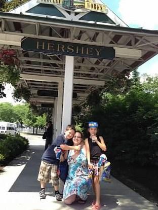 hershey's park trolley