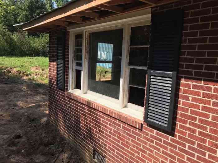 home remodel shutters