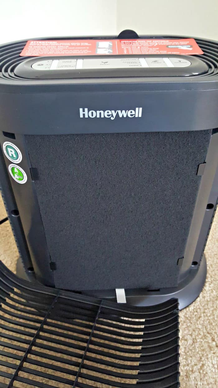 honeywell hpa300 review black filter