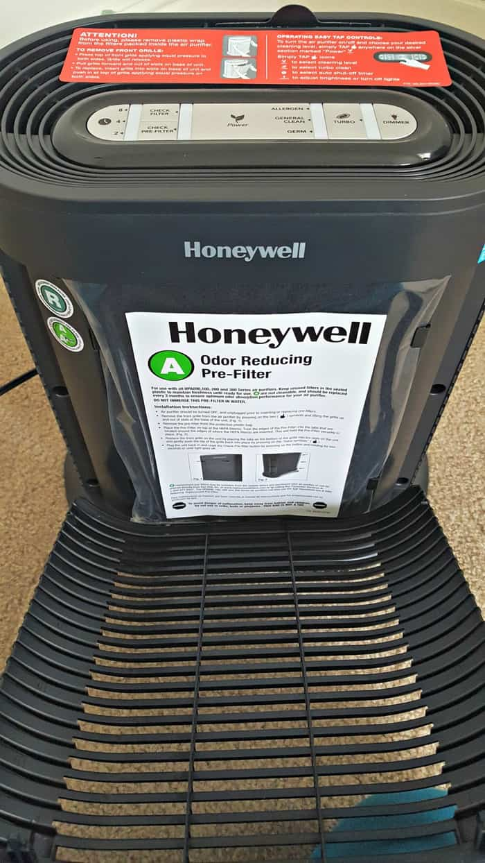 honeywell hpa300 review inside panel