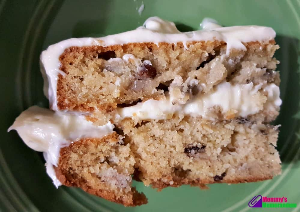 hummingbird cake recipe sliced