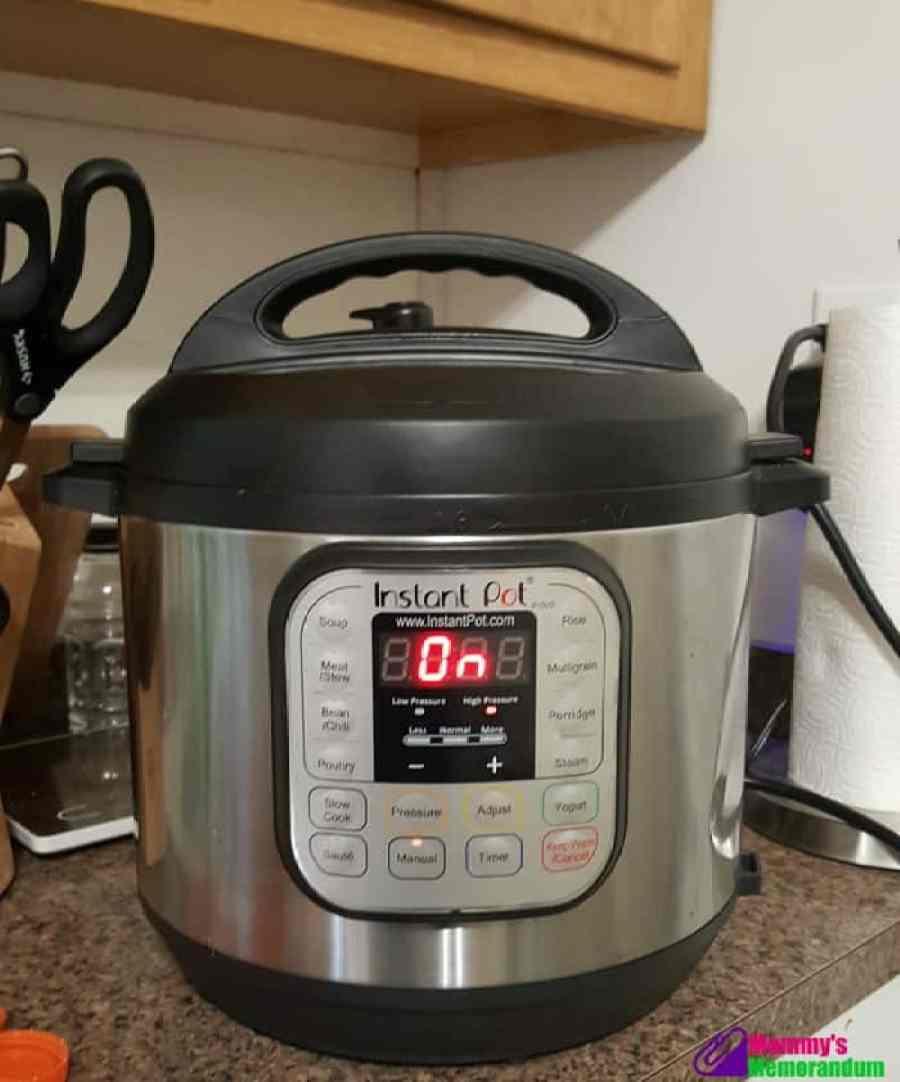 instant pot cooking artichokes