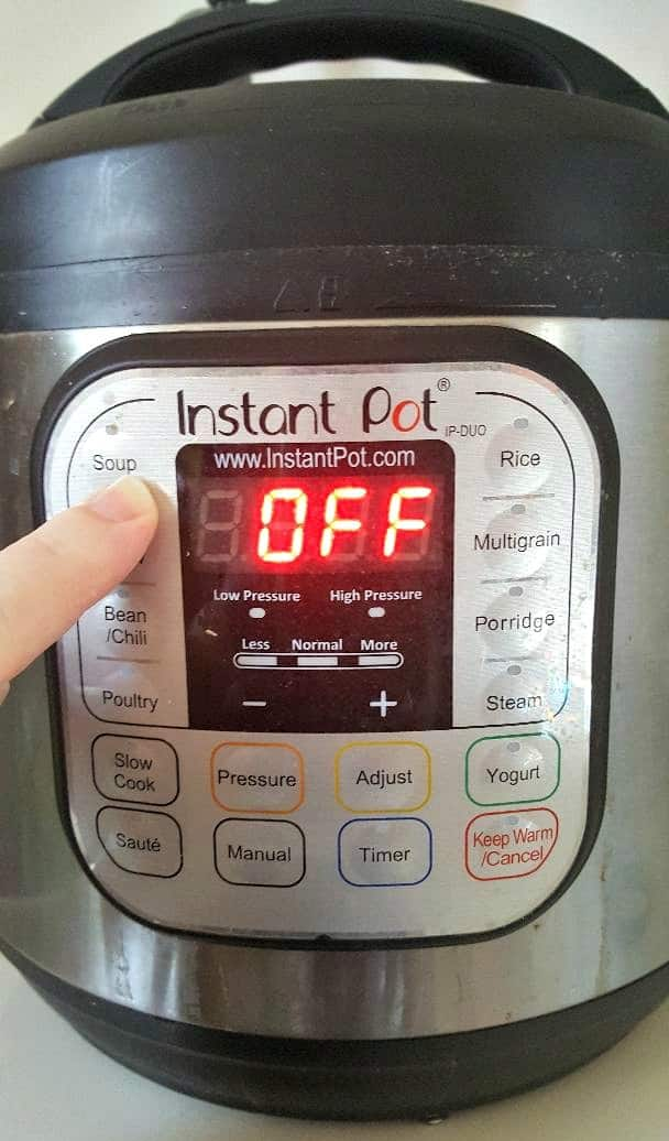 instant pot soup setting