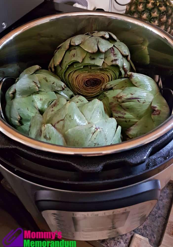 instantpot artichokes