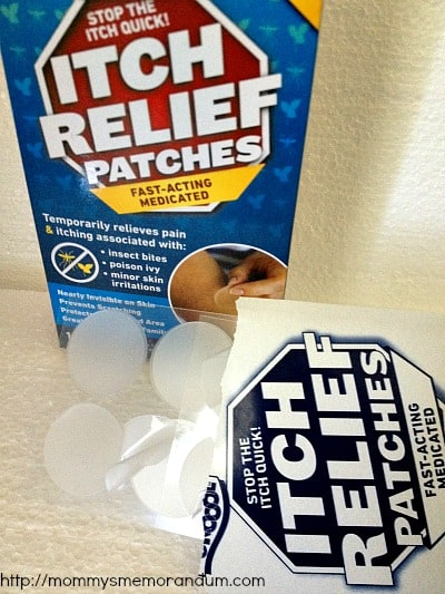 itch relief patches