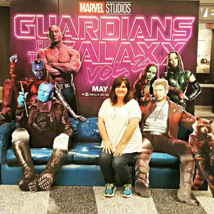 julee guardians of the galaxy poster