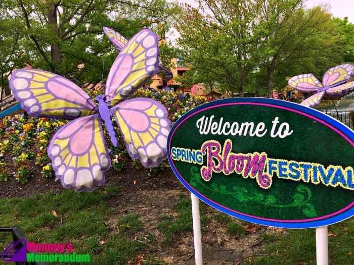 kings dominion spring bloom festival