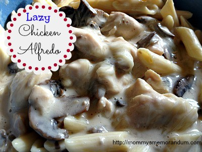 lazy chicken alfredo recipe