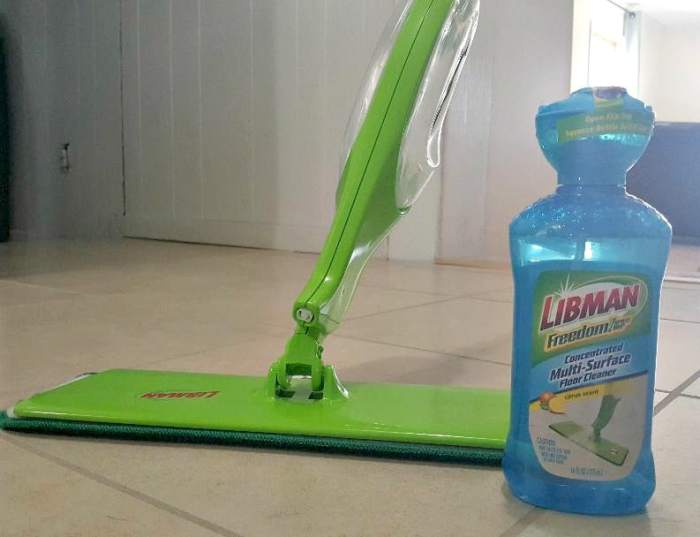 libman cleaning multisurface cleaner and mop