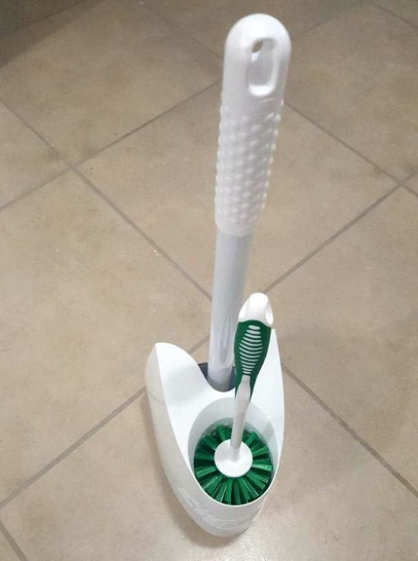 libman cleaning toilet brush and plunger combo brush