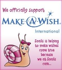 snails washable nail polish supports make a wish
