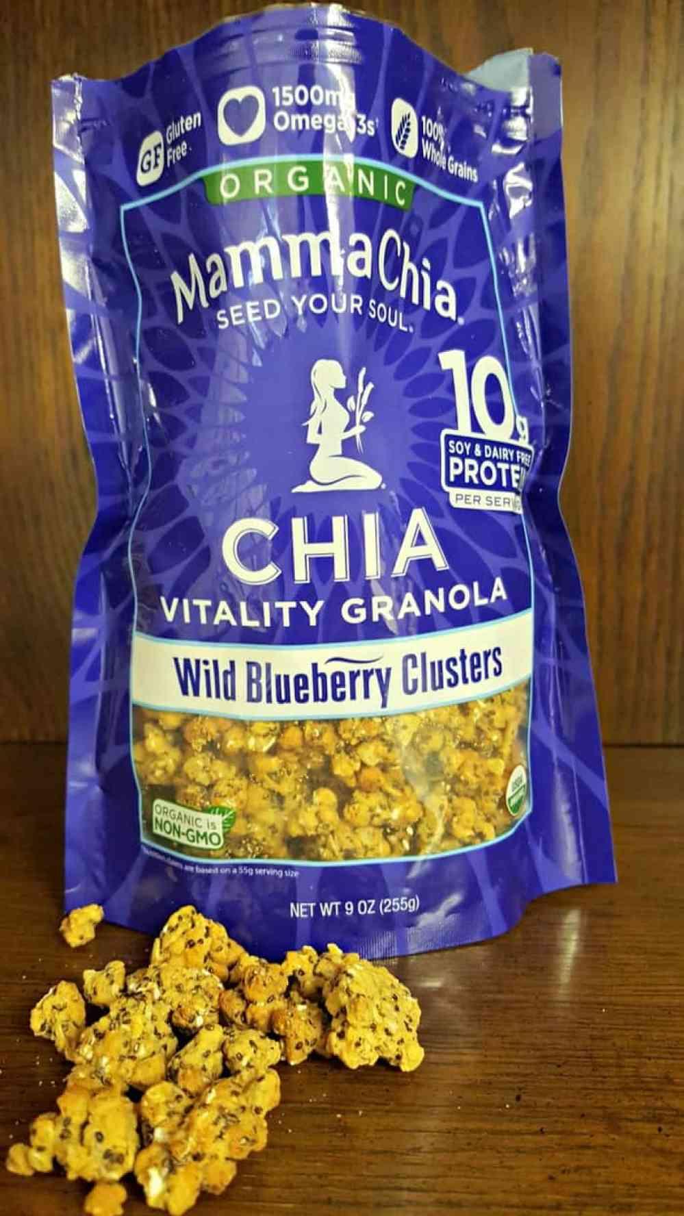 mamma chia blueberry granola