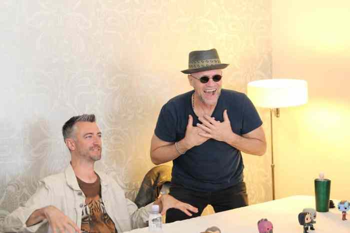 michael rooker laughing out loud