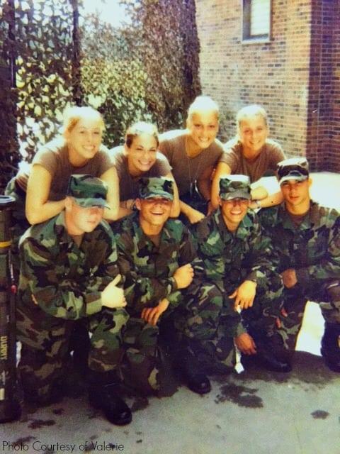 military women tribute