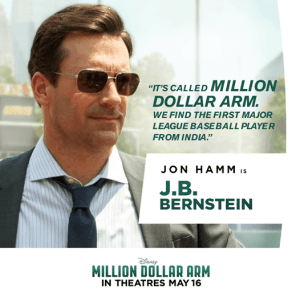 Million Dollar Arm Movie Review  #MillionDollarArmEvent