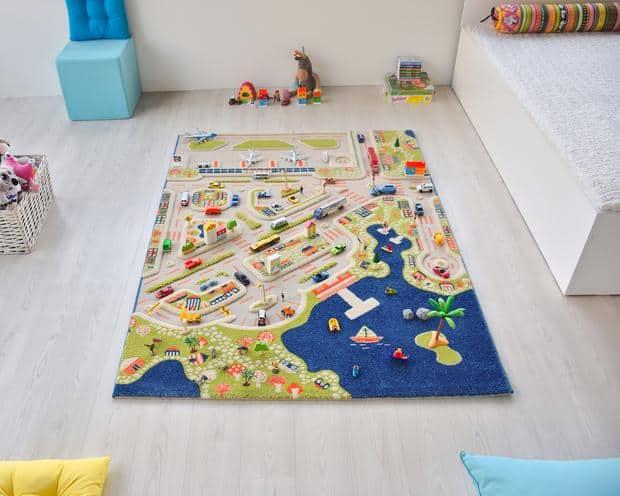 mini city IVI3D Play Carpets