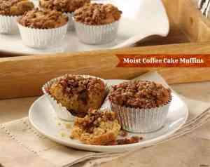 Moist Coffee Cake Muffin #Recipe
