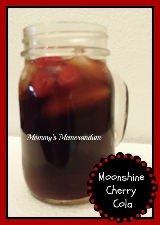 moonshine cherry cola #Recipe