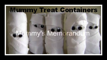 mummy treat favors