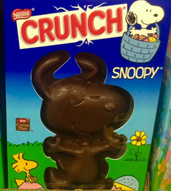 nestle crunch snoopy