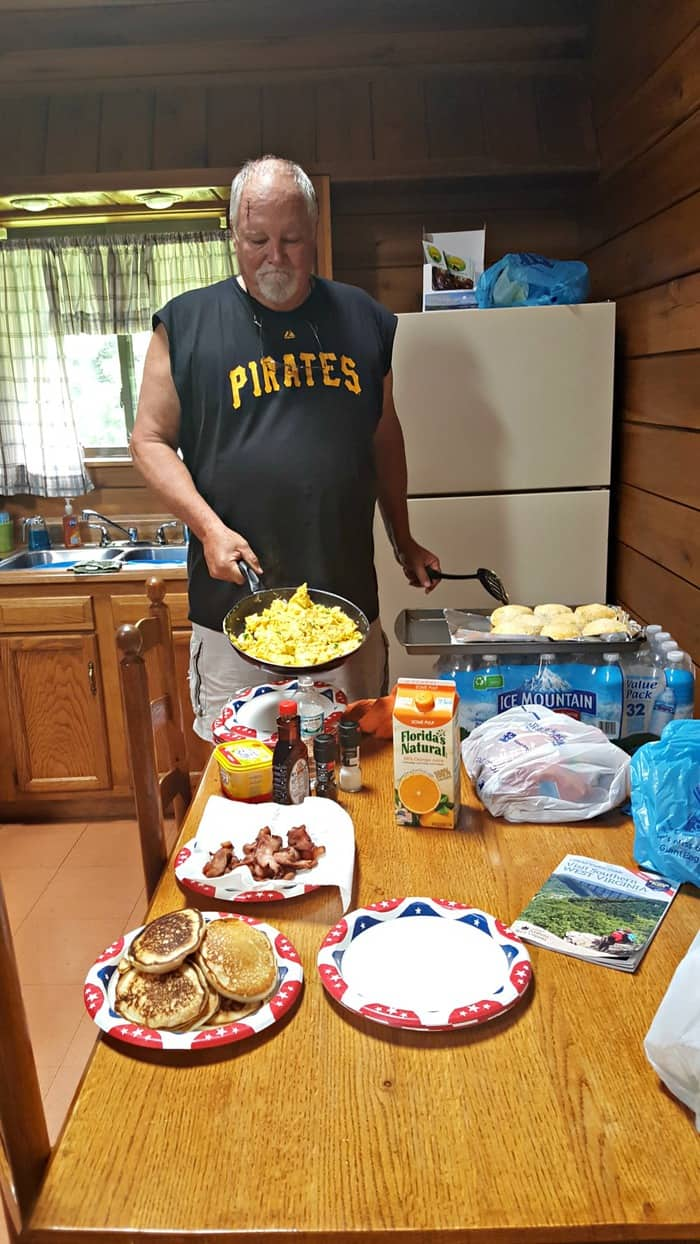 new river gorge cabins country roads breakfast by grandpa