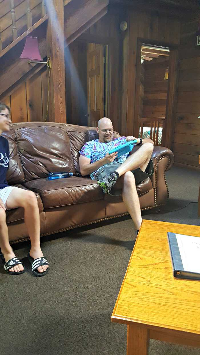 new river gorge cabins on the couch