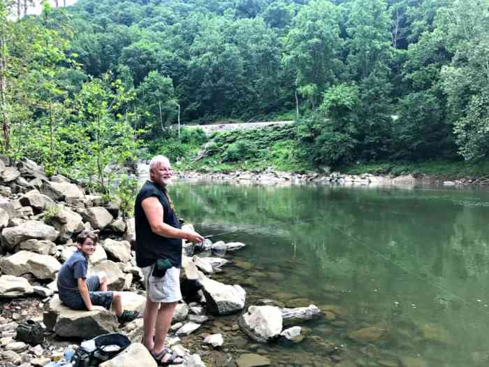 new river gorge fishing