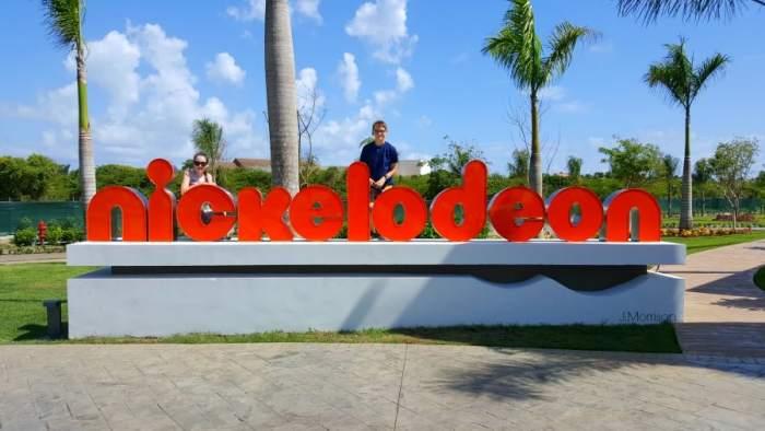 nickelodeon sign at nickelodeon punta cana