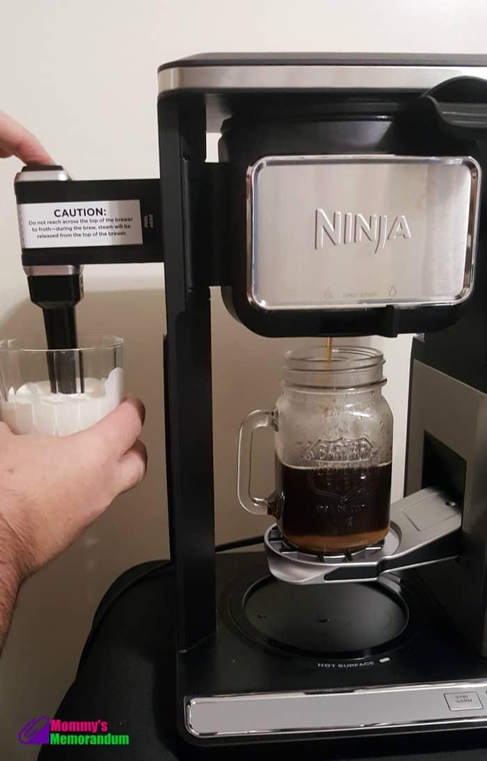 ninja-bar-toffee-coffee-brewing