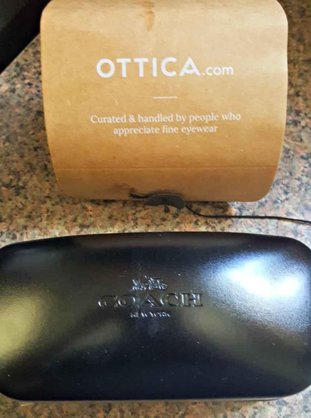 ottica coach prescription sunglasses durable coach case