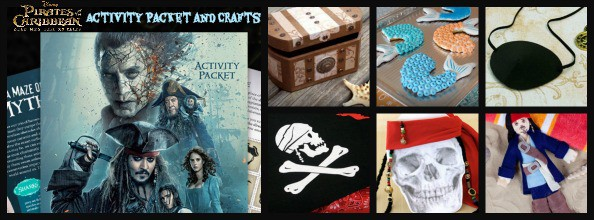 pirates activity packet and crafts Image
