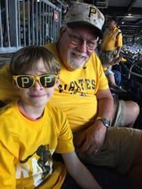 pittsburgh pirates-Baseball with Grandpa