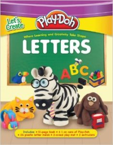 Play-Doh Let's Create: Shapes and Letters Books for Creative Fun